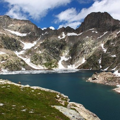 Lac Long (massif du Mercantour)