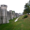 Vue sud-ouest des fortifications
