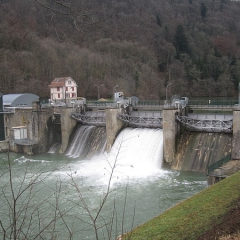 Barrage de Grosbois (Doubs)