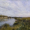 View of Saint-Mammès (1880), Alfred Sisley
