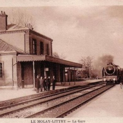 Gare du Molay-Littry